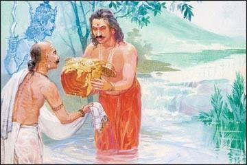 కర్ణుడు కవచ కుండలాలతో ఎందుకు పుట్టాడు?